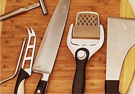 Qava quesos cuchillos