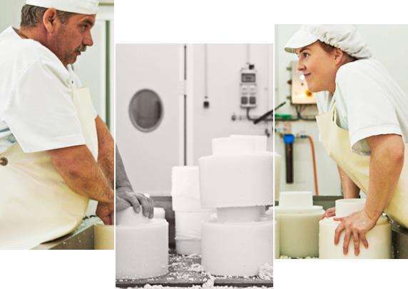 Profesionales de los quesos