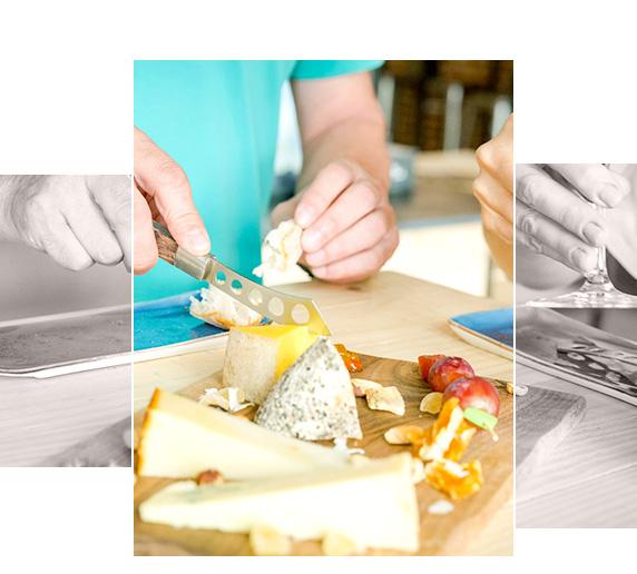 Servicios qava y complementos para el queso