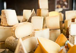 Qava tiene una gran variedad de quesos