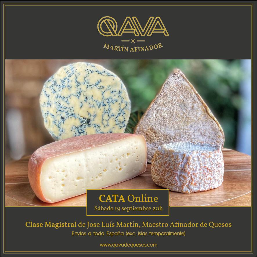 Cata Online QAVA Los queseros del Maestro